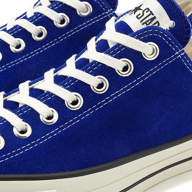 CONVERSE Converse sneakers shoes men Lady's SUEDE ALL STAR J OX suede all stars J low frequency cut royal blue [32158726 FW17]