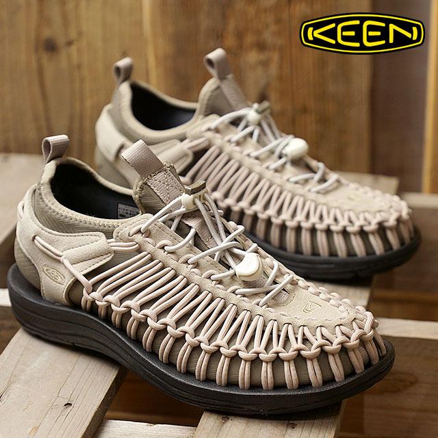 【在庫限り】KEEN キーン スニーカー 靴 サンダル 靴 レディース WMNS UNEEK HT ユニーク エイチティー W-PLAZA TAUPE/BRINDLE (1018030 FW17)【e】【ts】【コンビニ受取対応商品】