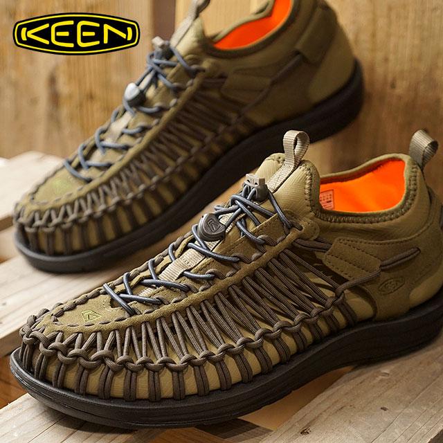 【在庫限り】KEEN キーン スニーカー 靴 サンダル 靴 メンズ MENS UNEEK HT ユニーク エイチティー Dark Olive/Gothic Olive (1018027 FW17)【ts】【e】【コンビニ受取対応商品】