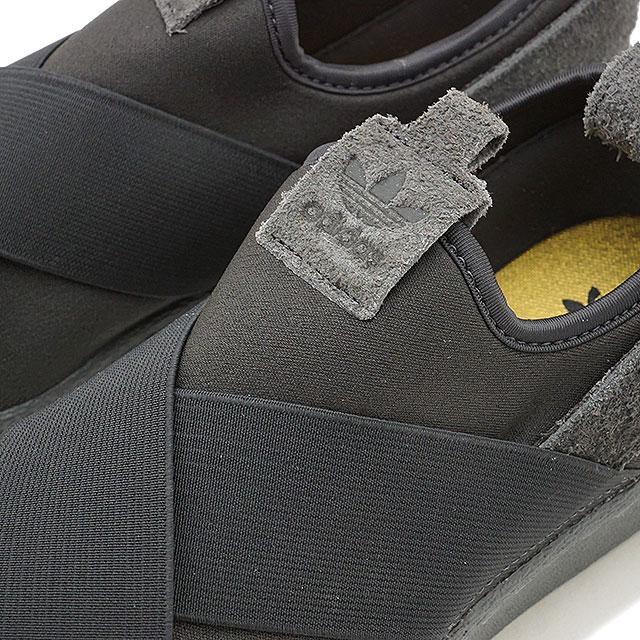 Adidas Superstar Slip På Svart Grå hkaN5UD
