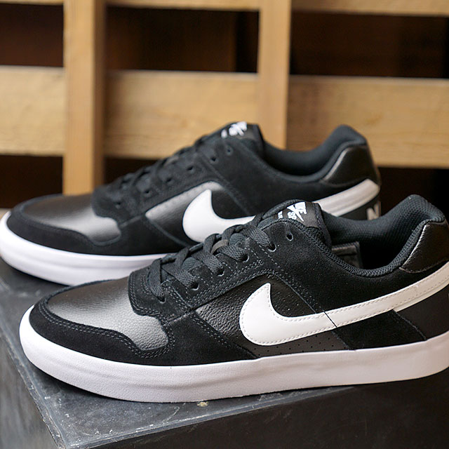 sports shoes ae803 61dbd NIKE SB Nike sneakers men Lady s DELTA FORCE VULC デルタフォースヴァルクブラック   white  ...