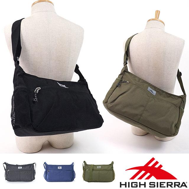 HIGH SIERRA ハイシェラ 25.5L KENO SHOULDER BAG keno shoulder bag (90477 FW17)