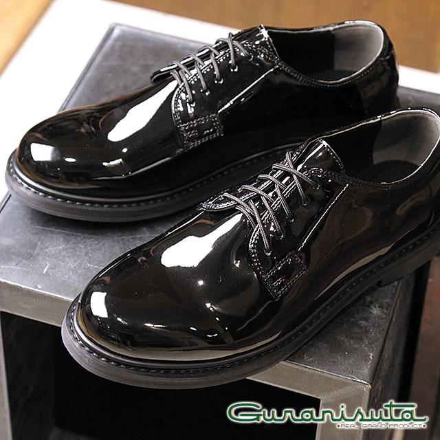 Guranisuta グラニスタ エナメルシューズ POLICEMAN SHOES ポリスマンシューズ BLACK ブラック 靴 (GR-KC2527)【ts】