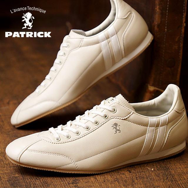 【即納】【返品送料無料】PATRICK パトリック スニーカー メンズ レディース 靴 DATIA ダチア IVORY (29250)復刻限定 日本製 Made in Japan【コンビニ受取対応商品】