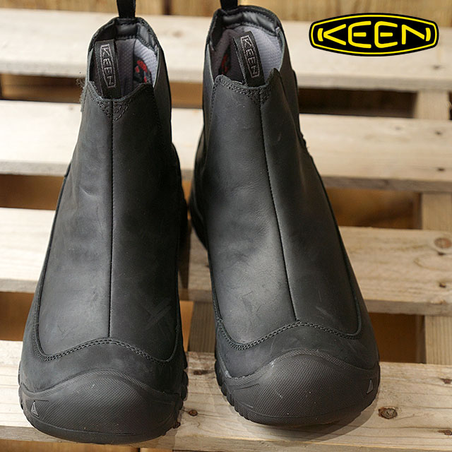 712b44f5395 KEEN Kean side Gore boots men MENS Anchorage Boot III WP Anchorage boots  three waterproof Black/Raven shoes (1017789 FW17)