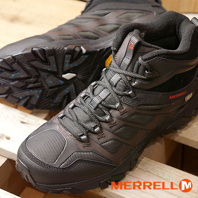 d1d057fef5 MERRELL メレルメンズ MENS MOAB FST ICE+ THERMO Moab FST ice positive thermoBLACK  (35793 FW17)