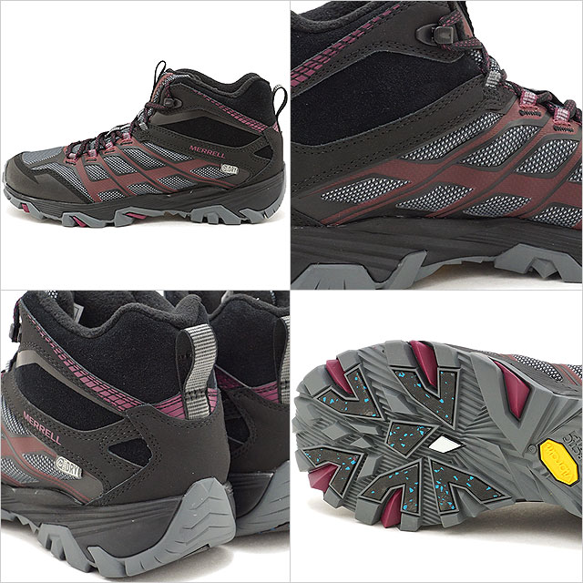 f426a8fdbc0 MERRELL メレルレディース WMNS MOAB FST ICE+ THERMO Moab FST ice positive  thermoBLACK shoes (09598 FW17)