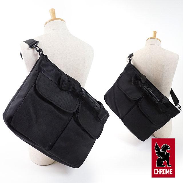 【即納】CHROME クローム バッグ 14L トートバッグ JUNO ジュノ ALL BLACK (BG-230 FW17)【コンビニ受取対応商品】