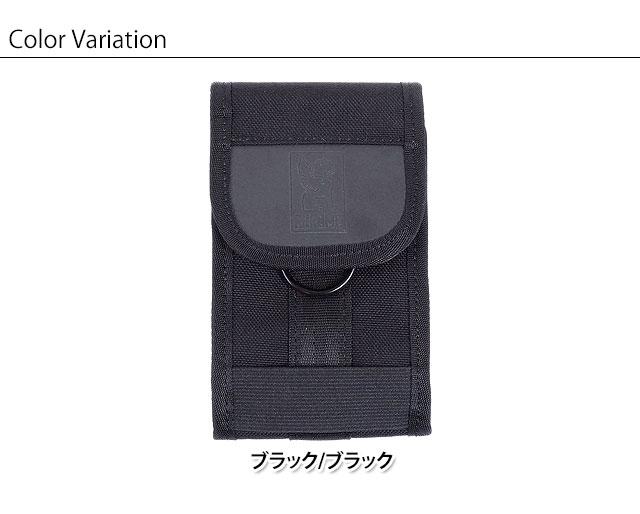 599ee2a4ef8 CHROME chrome bag smartphone porch PHONE POUCH smartphone porch smartphone case  BLACK BLACK (AC-135 FW17)