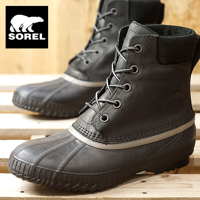 796cf23b33d SOREL Sorrel snow boot men CHEYANNE II Cheyenne 2 BLACK (NM2575-010 FW17)