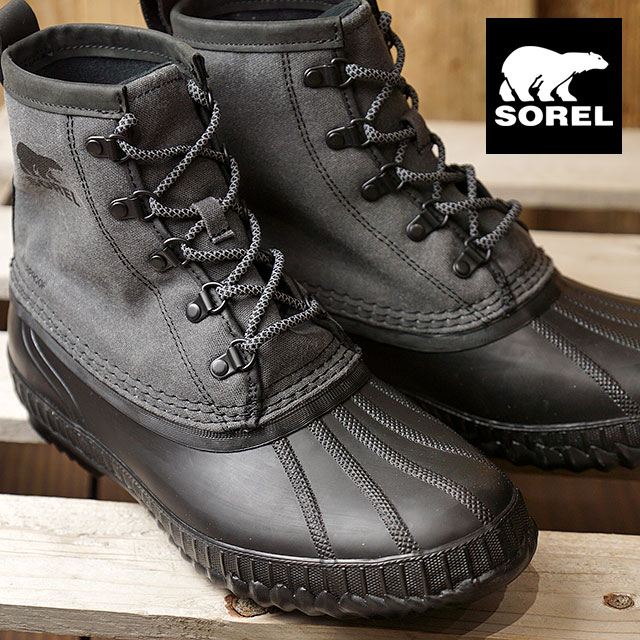 02af4a2b59f SOREL Sorrel snow boot men CHEYANNE II SHORT Cheyenne 2 short BLACK  (NM2605-010 FW17)