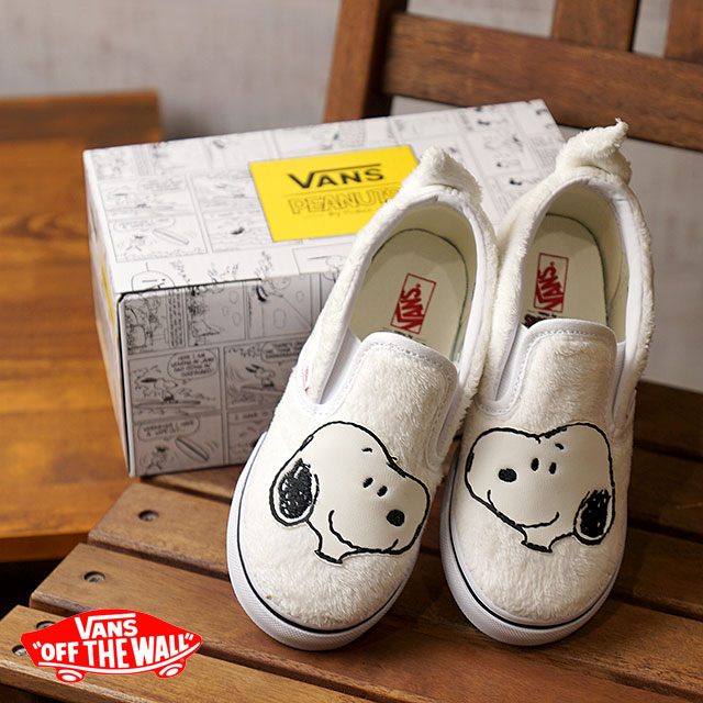 ce444cdc5c3446 VANS PEANUTS vans peanut sneakers shoes kids CLASSIC SLIP-ON Snoopy  classical music slip-on (slip-ons) SNOOPY TRUE WHITE (VN0A32QJQQG FW17)