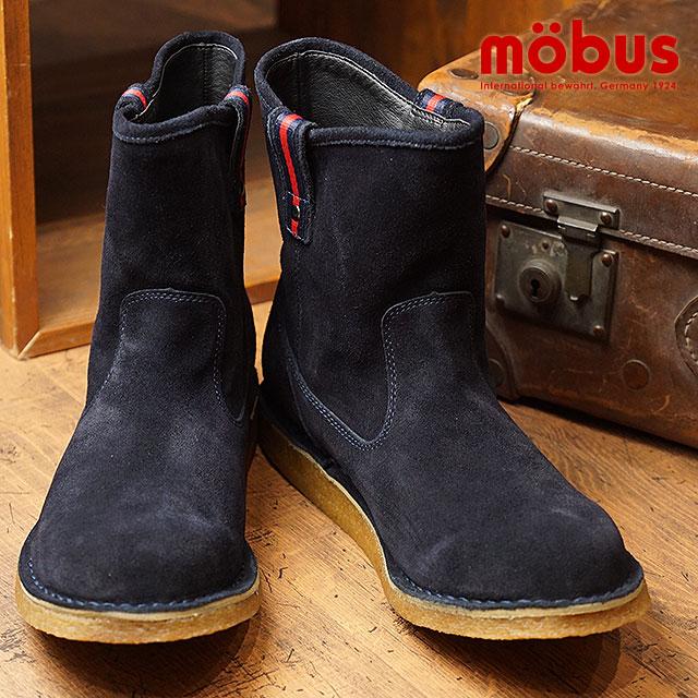 mobus モーブス メンズ スニーカー 靴 ブーツ CASIMIR カシミール DARK NAVY ネイビー (MBK0002-3737 HO17)【ts】【e】