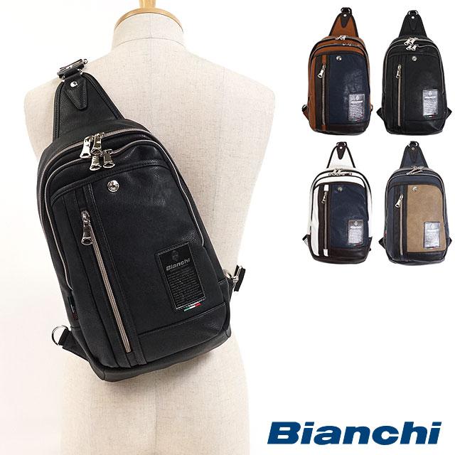 【12/31 14時まで!ポイント10倍】Bianchi ビアンキ ボディーバッグ ワンショルダー メンズ・レディース (TBPI-12 FW17)【コンビニ受取対応商品】
