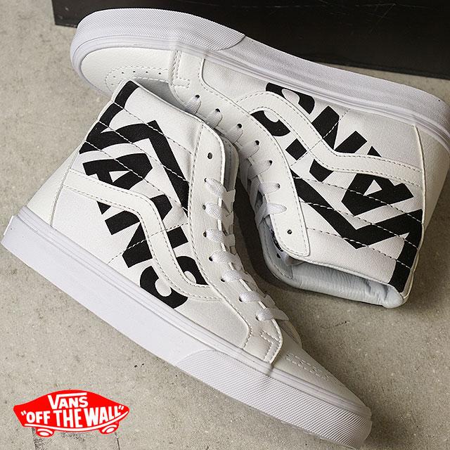0d63b2014c VANS vans sneakers men Lady s SK8-HI REISSUE skating high Lee Shu (スケハイ) TRUE  WHITE BLACK (VN0A2XSBQW8 FW17)