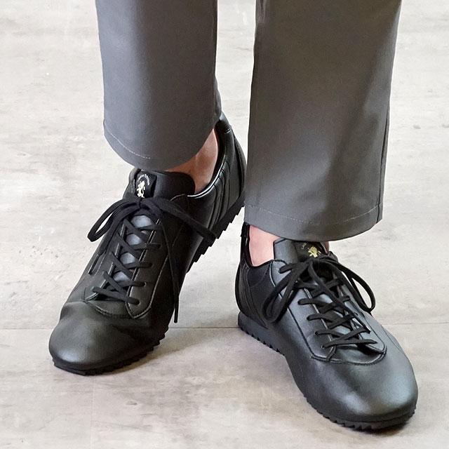 【あす楽対応】【返品送料無料】PATRICK パトリック スニーカー 日本製 靴 CALLACLE カラックル BLK メンズ・レディース ブラック系 (529671)