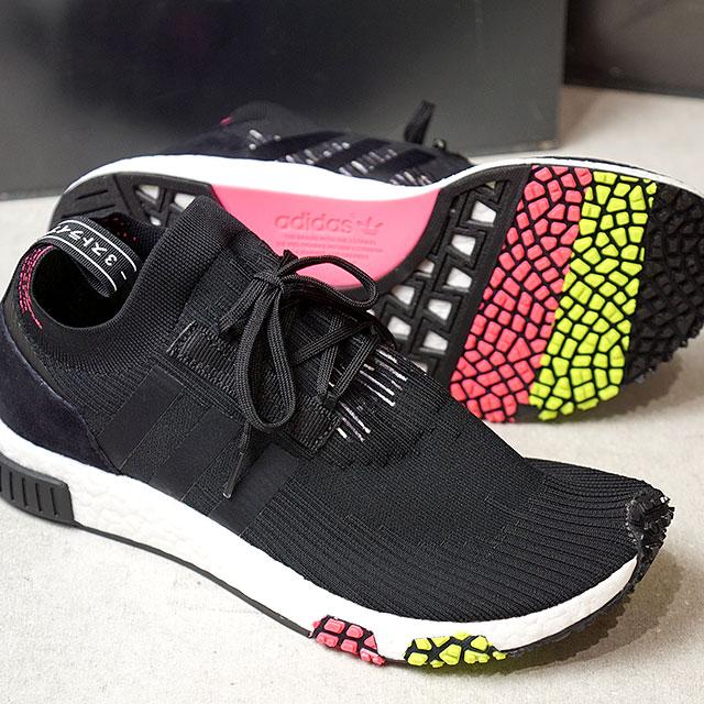 6c6ef77738762 adidas Adidas sneakers men originals NMD RACER PK N M D racer prime knit core  black   core black   solar pink (CQ2441 SS18)
