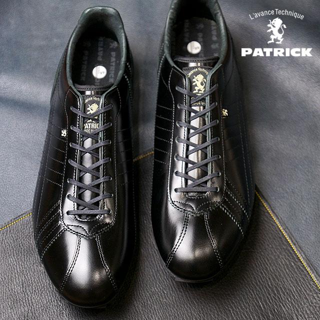 【即納】【返品送料無料】PATRICK パトリック スニーカー メンズ レディース 靴 SULLY-FM/LX シュリー ラグジュアリー BLK(26529)日本製 Made in Japan スニーカ sneaker【コンビニ受取対応商品】