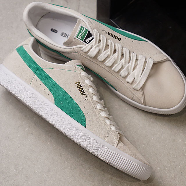 c3781bcdd5c PUMA Puma SUEDE 90681 suede W.WHITE G.FLASU P.WHITE men sneakers shoes  (365