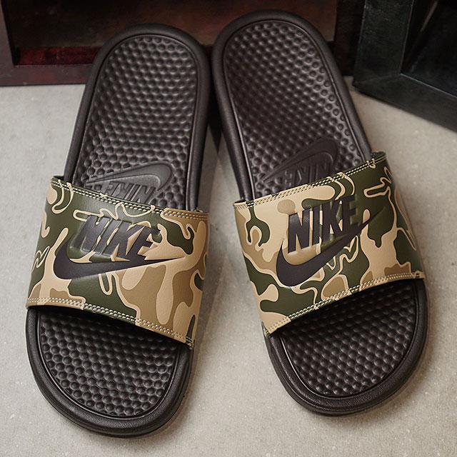 new arrivals f9b0b 5be2d NIKE Nike men sandal BENASSI JDI ベナッシ JDI print velvet brown   velvet brown  (631,261 ...