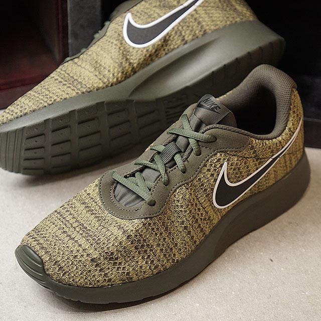 3de5e8f2fc62 NIKE Nike men sneakers shoes TANJUN PREM tongue Jun premium cargo khaki    black (876