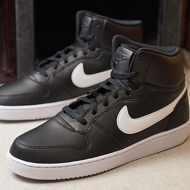 70fa7832a5 NIKE Nike men sneakers shoes EBERNON MID SL Eve non mid SL black   white  (AQ1772-001 FW18)