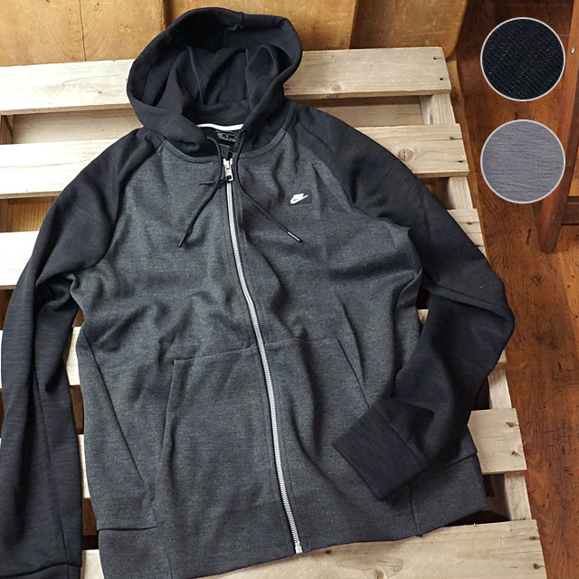 NIKE Nike men zip parka AS M NSW OPTIC HOODIE FZ フルジップフーディー (928476 FW18)