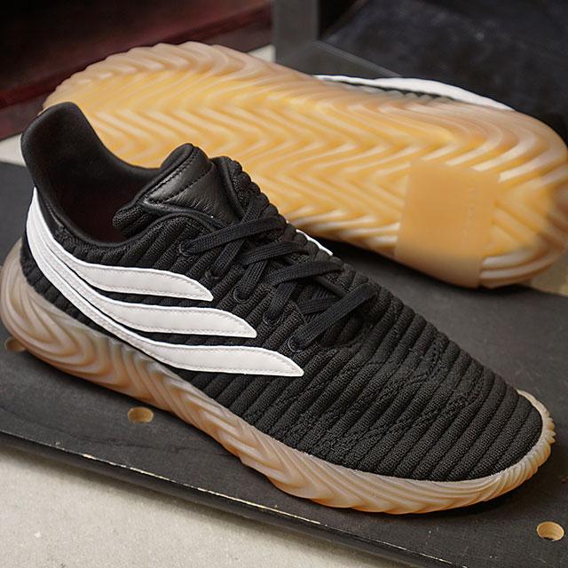 980cbf68b588 adidas Originals Adidas originals Sobakov ソバーコフメンズスニーカー shoes C black  R  white   gum 3 (AQ1135 FW18)