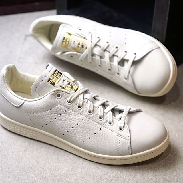 low priced 601ae 397a5 adidas Originals Adidas originals Stan Smith Premium Stan Smith premium men  sneakers shoes white T S18  white T S18  goal domet (B37900 FW18)