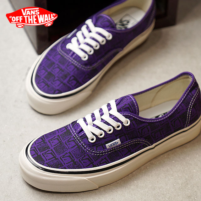 44 VANS station wagons ANAHEIM FACTORY Anaheim factory AUTHENTIC 44 DX  authentic DX vans sneakers shoes OG BRIGHT PURPLE SQUARE ROOT (VN0A38ENU6B  FW18) 0d1a535f2