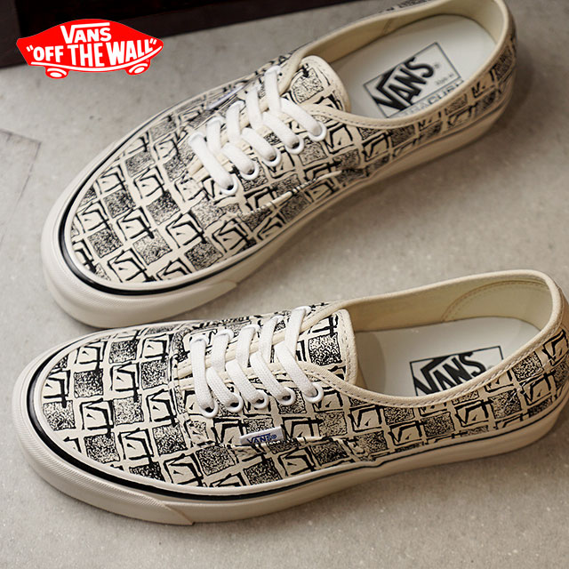 94c39ca60be 44 VANS station wagons ANAHEIM FACTORY Anaheim factory AUTHENTIC 44 DX  authentic DX vans sneakers shoes OG WHITE SQUARE ROOT (VN0A38ENU6D FW18)