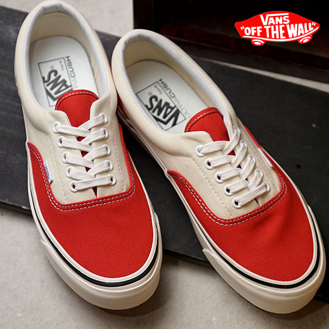 9cae85271a VANS station wagons ANAHEIM FACTORY Anaheim factory ERA 95 DX gills 95 DX  vans sneakers shoes OG RED OG WHITE (VN0A2RR1U8Q FW18)