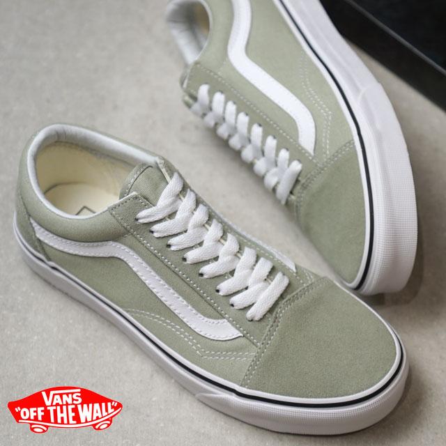 6eca279fc8e41 VANS station wagons OLD SKOOL old school vans sneakers shoes DESERT  SAGE/TRUE WHITE (VN0A38G1U62 FW18)