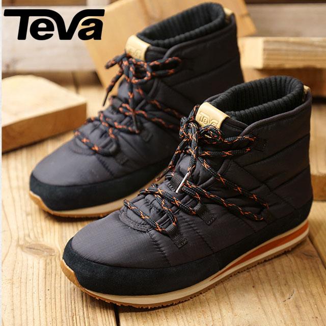 【即納】Teva テバ レディース W Ember Lace エンバー レース ウィンターブーツ BLK 靴 (1102130 FW18)【コンビニ受取対応商品】