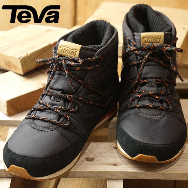 【即納】Teva テバ M Ember Lace エンバー レース ウィンターブーツメンズ BLK 靴 (1094235 FW18)【コンビニ受取対応商品】