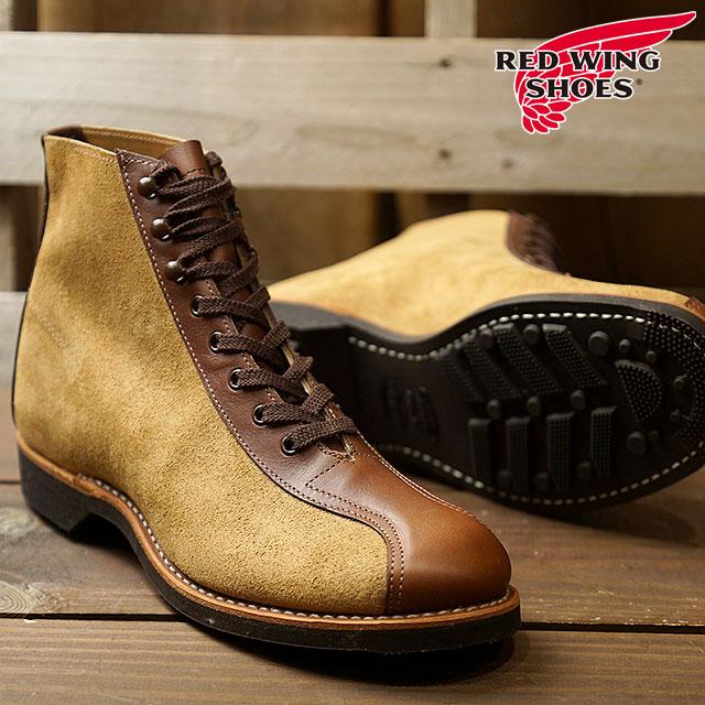 REDWING レッドウィング #8827 フラットボックス 1920s アウティング ブーツ 1920s OUTING BOOT Dワイズ メンズ 靴 (8827 FW18)【コンビニ受取対応商品】