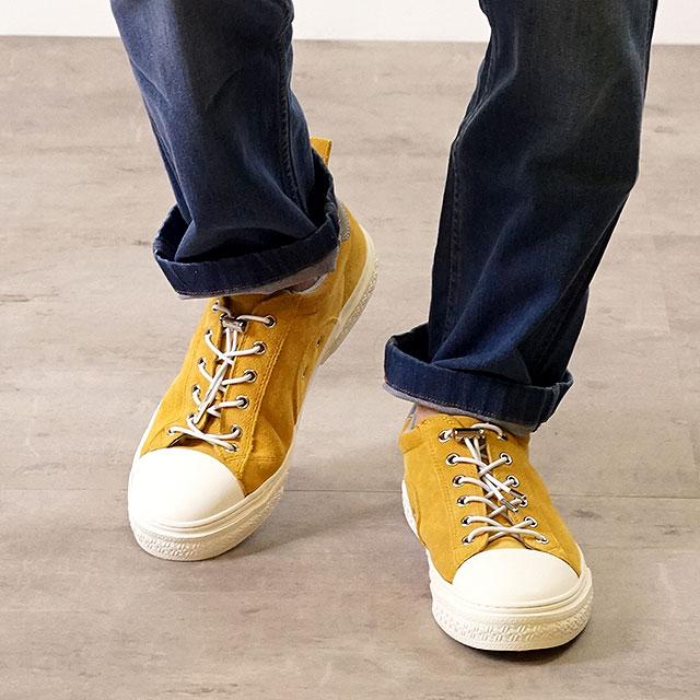 【月間優良ショップ】スラック SLACK クルード プレミアム スエードレザー CLUDE PREMIUM SUEDE スニーカー 靴 メンズ・レディース MUSTARD/WHITE (SL1401-388 FW18)【コンビニ受取対応商品】