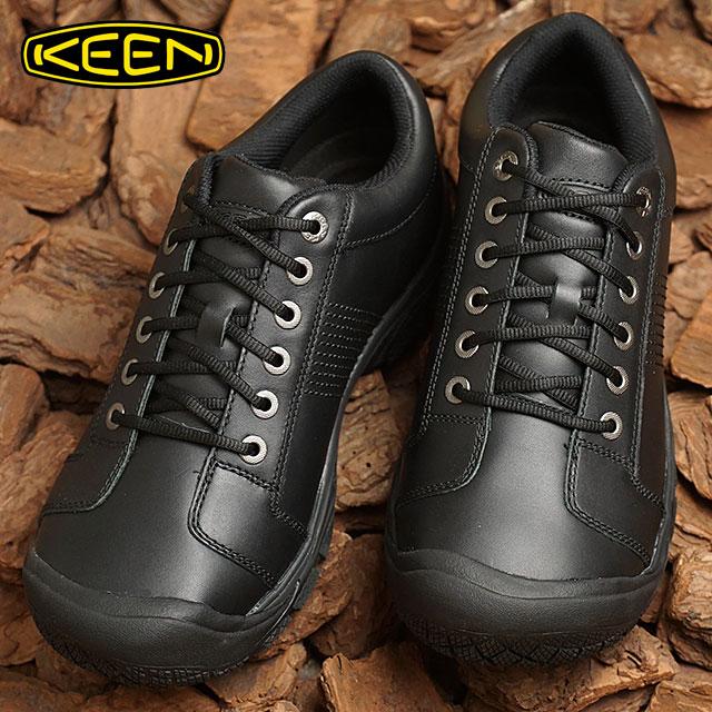 キーン KEEN メンズ ピーティーシー オックスフォード MEN PTC OXFORD プロ ワークシューズ 靴 Black (1006980 FW18)【ts】