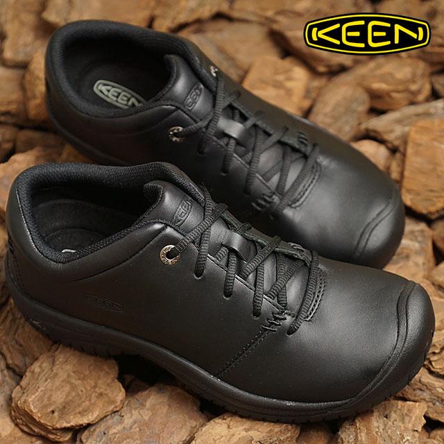 キーン KEEN レディース ピーティーシー オックスフォード WOMEN PTC OXFORD プロ ワークシューズ 靴 Black (1006999 FW18)【コンビニ受取対応商品】