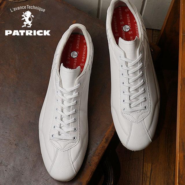 【即納】【返品送料無料】パトリック PATRICK ダチア・クラシック DATIA-CL メンズ レディース スニーカー 靴 ホワイト WHT (530660 FW18)【コンビニ受取対応商品】
