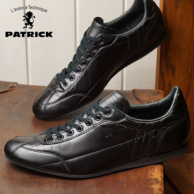 SHOETIME   Rakuten Global Market: Patrick PATRICK arsehole a classical music DATIA-CL men gap Dis sneakers shoes black BLK (530661 FW18)