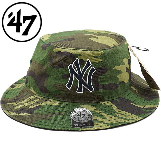 0c3e6e9c63d Forty seven Yankees  47 serge pail hat Yankees  47 Sarge Bucket hat men gap  Dis Camo (SARGE17GWF FW18)