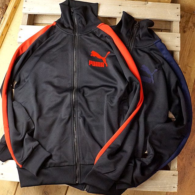 6a9bfc8215d2 PUMA Puma men jersey T7 VINTAGE TRACK JACKET T7 vintage truck jacket  (576217 FW18)