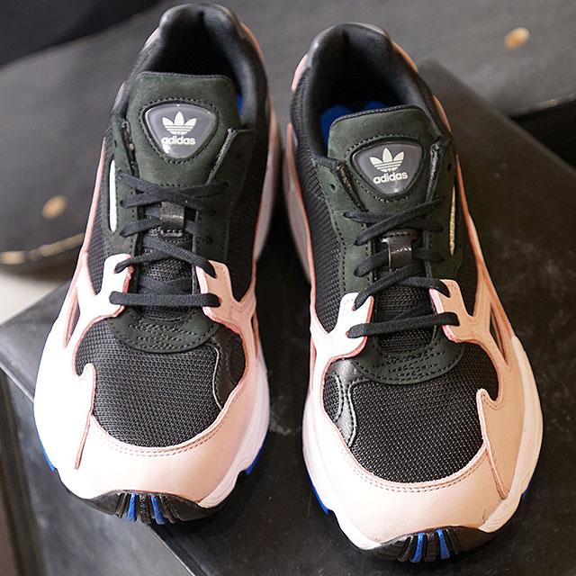 best service ca4f4 618f1 adidas Originals Adidas originals Lady s FALCON W falcon Win men sneakers  shoes C black  C black   light pink (B28126 FW18)
