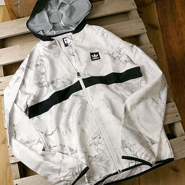 adidas Originals Adidas skateboarding jacket men MARBLE BB PACKABLE WINDJACKET marble BB パッカブルウィンドジャケット (FJH28DH3880 FW18)
