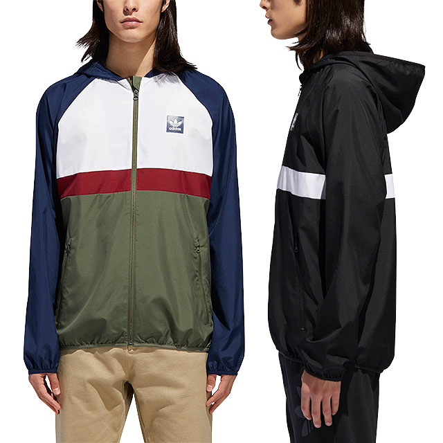 adidas Originals Adidas skateboarding jacket men BLACKBIRD PACKABLE WIND JACKET ブラックバードパッカブルウィンドジャケット (BHX25DH3872 DH3873 FW18)
