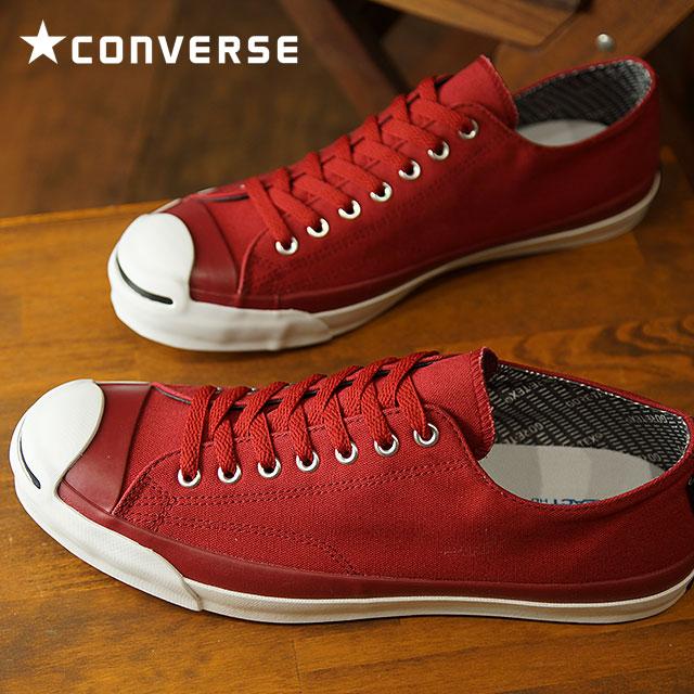 【即納】CONVERSE コンバース ジャックパーセル ゴアテックス RH スニーカー 靴 JACK PURCELL GORE-TEX RH レッド (32263512 FW18)【コンビニ受取対応商品】