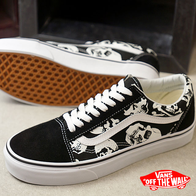 2e77eb44ee9094 VANS station wagons SKULLS scull OLD SKOOL old school vans sneakers shoes  BLACK TRUE WHITE (VN0A38G1H0B FW18)