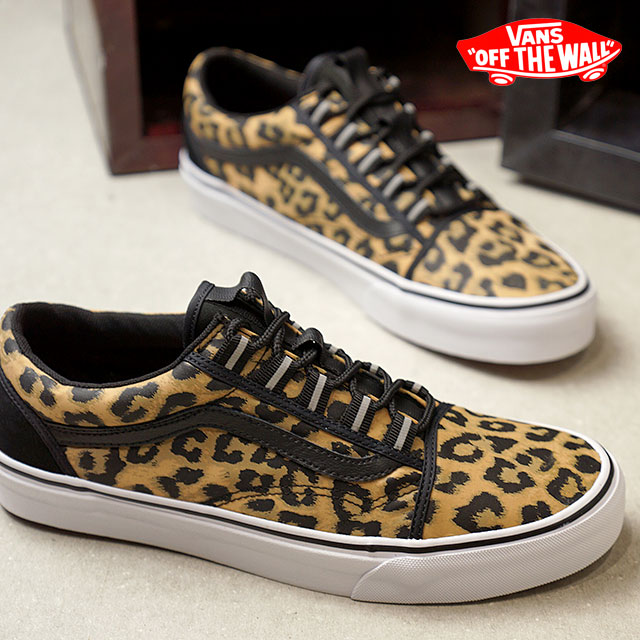 4ef1bbbf05 VANS station wagons NYLON LEOPARD nylon Leppard OLD SKOOL GHILLIE old school  ghillie vans sneakers shoes BLACK (VN0A3TKIUAY FW18)
