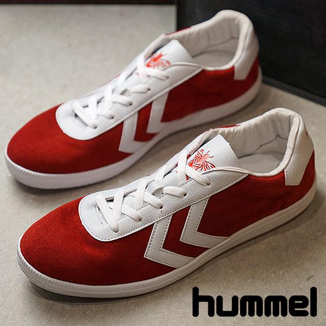 【限定モデル】hummel ヒュンメル OFF-FIELD オフ フィールド スニーカー 靴 メンズ RIBBON RED (HM201641-3425 FW18)【ts】【e】